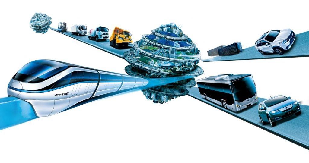 Elektrofahrzeuge von BYD