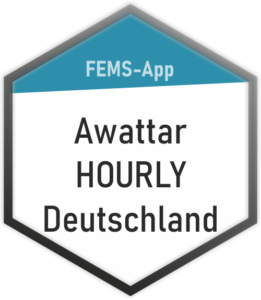 FEMS-App Awattar HOURLY Deutschland