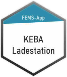 FEMS-App KEBA Ladestation