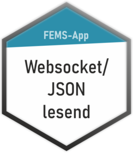 FEMS-App Websocket-JSON lesend